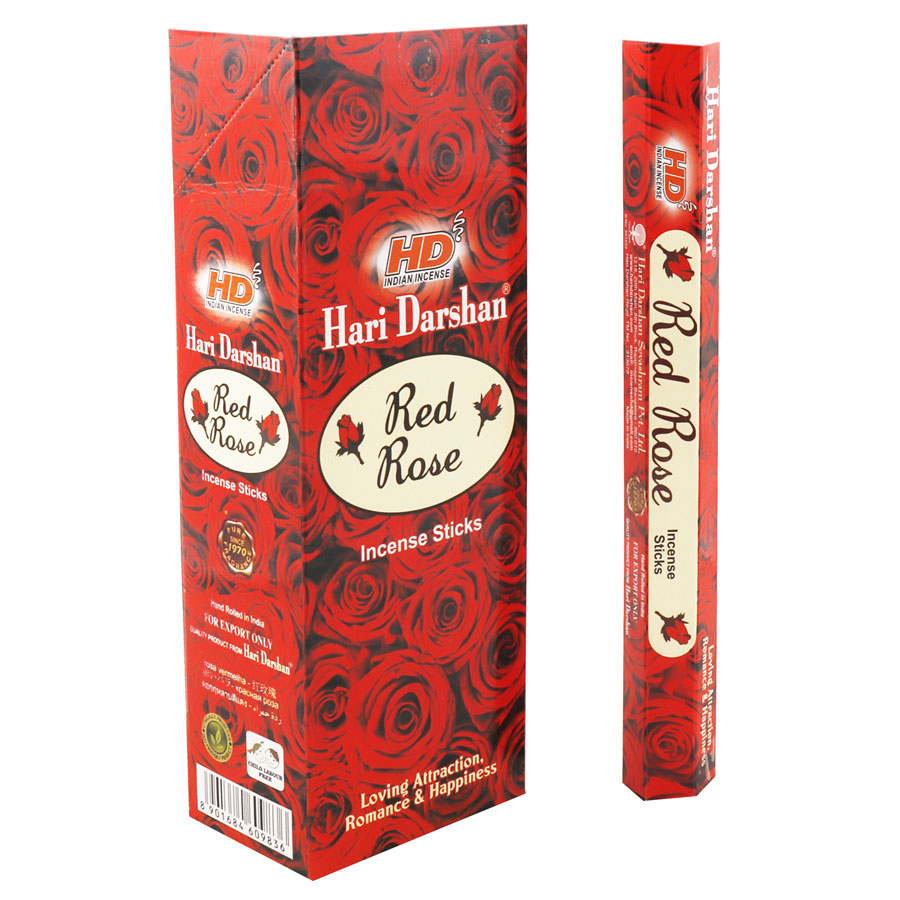 HARI DARSHAN RED ROSE / ROSA ROJA