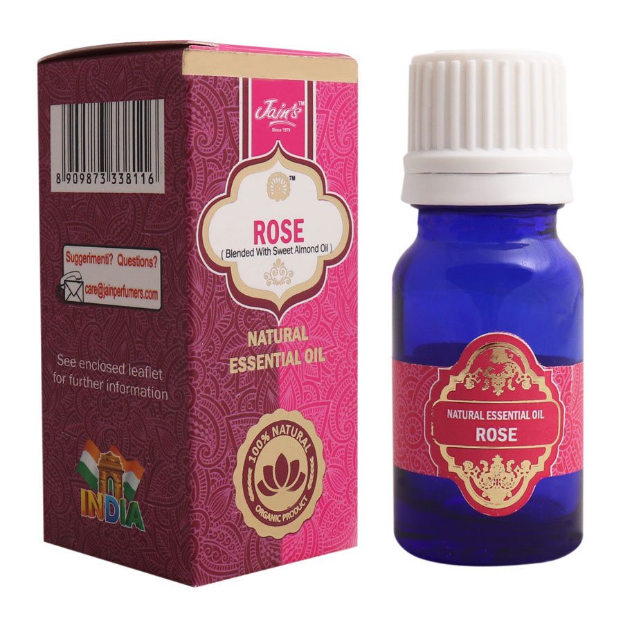 ROSE (BLENDED WITH SWEET ALMOND) OIL