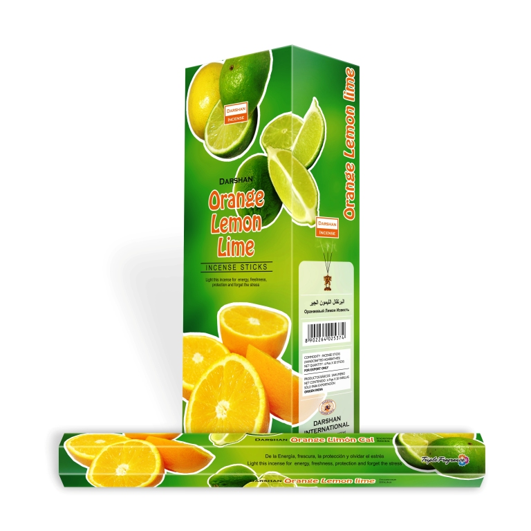 DARSHAN ORANGE LEMON LIME HEXA
