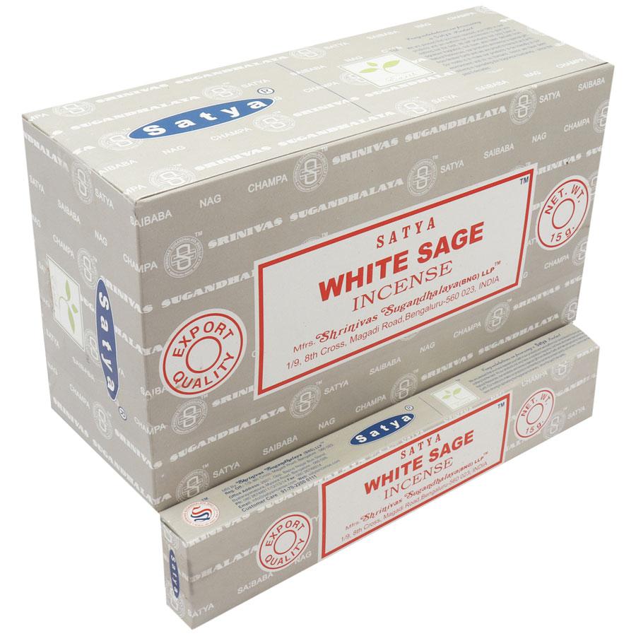 SATYA WHITE SAGE 15 GM