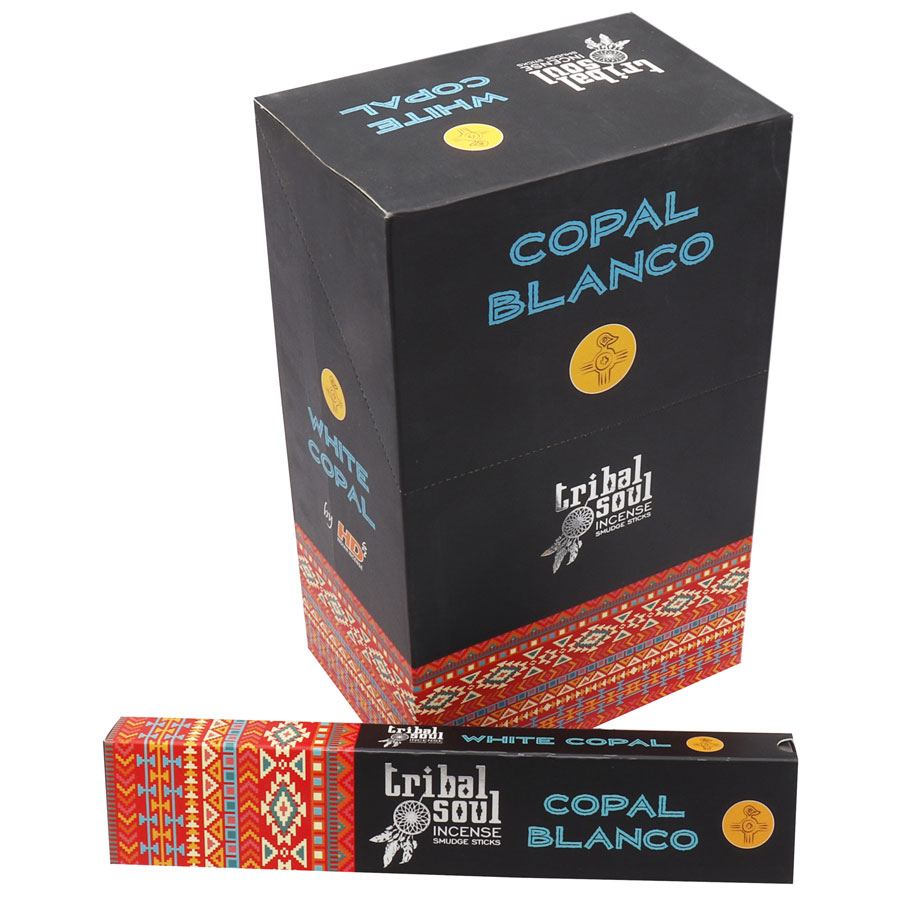 TRIBAL SOUL WHITE COPAL / COPAL BLANCO 15 GM