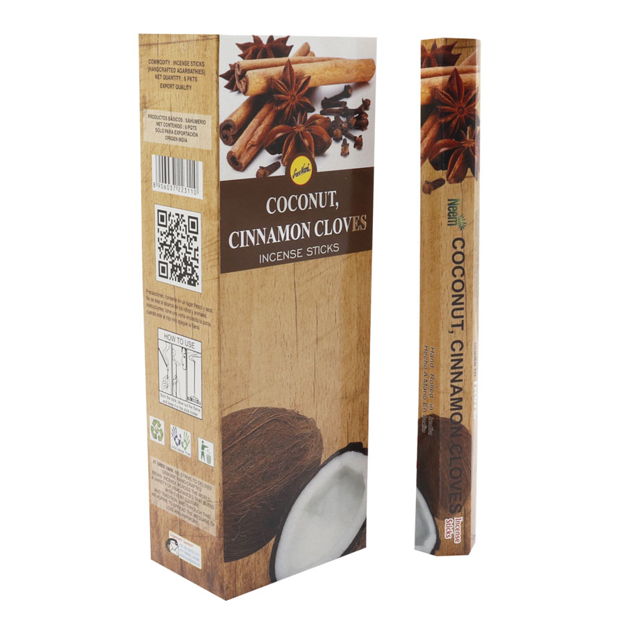 COCONUT CINNAMON CLOVES / COCO CANELA CLAVO
