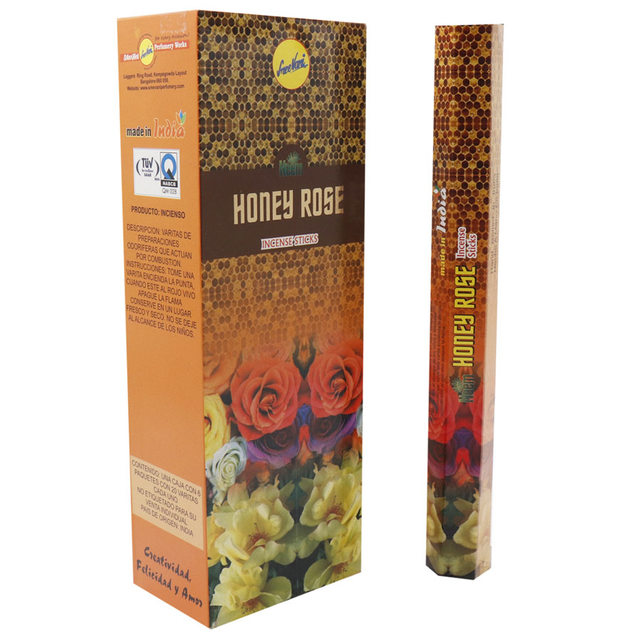 HONEY ROSE / MIEL CON ROSES